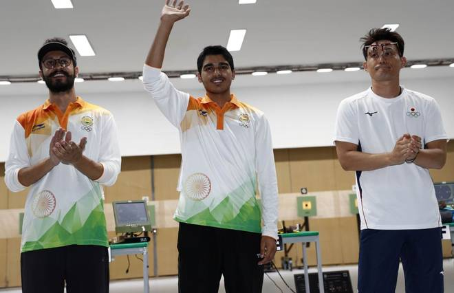 Saurabh wins gold in Asiad 2018