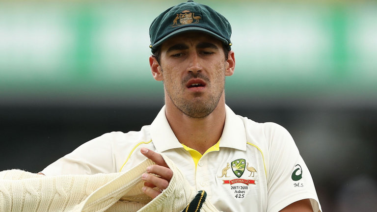 The fast bowler Mitchell Starc was ruled out of the IPL XI due to a stress fracture in his right leg.