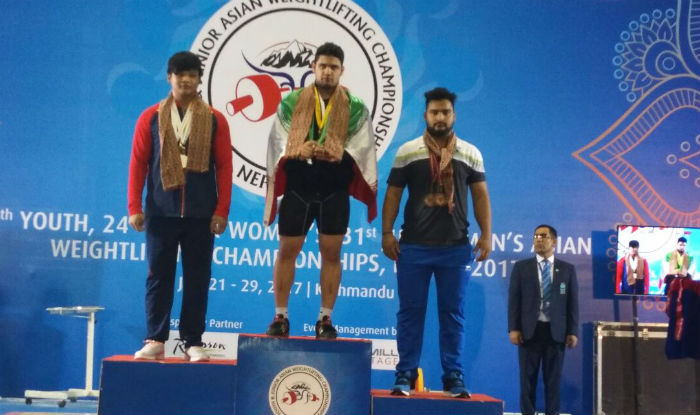 Lovepreet Singh win bronze in Asian Youth & Junior Weightlifting C