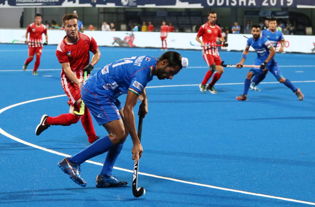 FIH Series Finals 2019: India thrashes Uzbekistan 10-0, enter semis