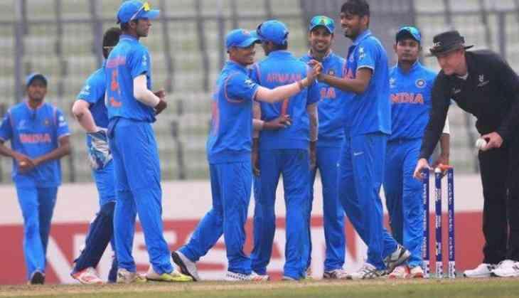 India U-19 cricket  team beat England U-19 by 334 runs