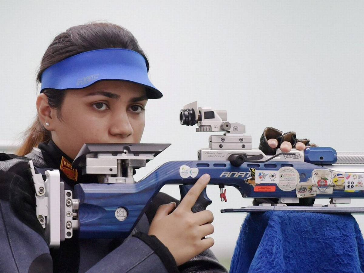 India bags gold in 10 meter air pistol even in Shooting World Cup
