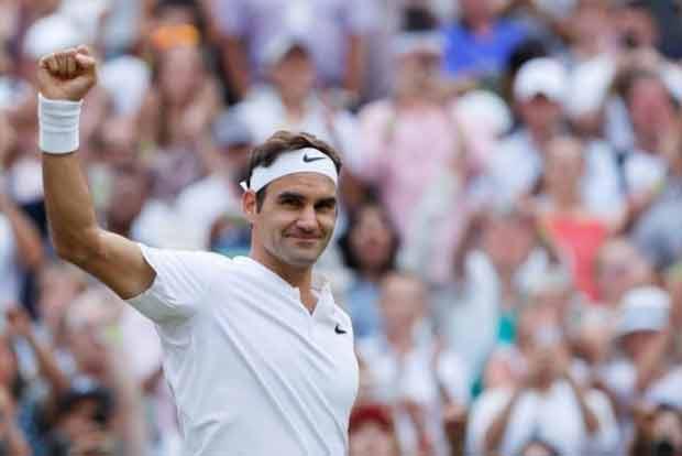 Roger Federer enters Wimbledon quarterfinals for 15th time