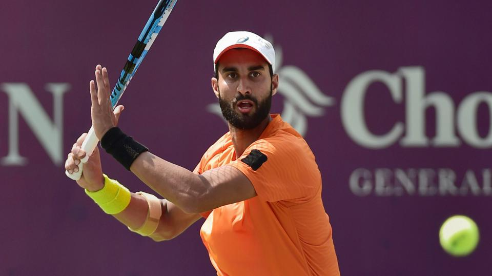 Yuki Bhambri to play against Jordan Thompson in Chennai Open final