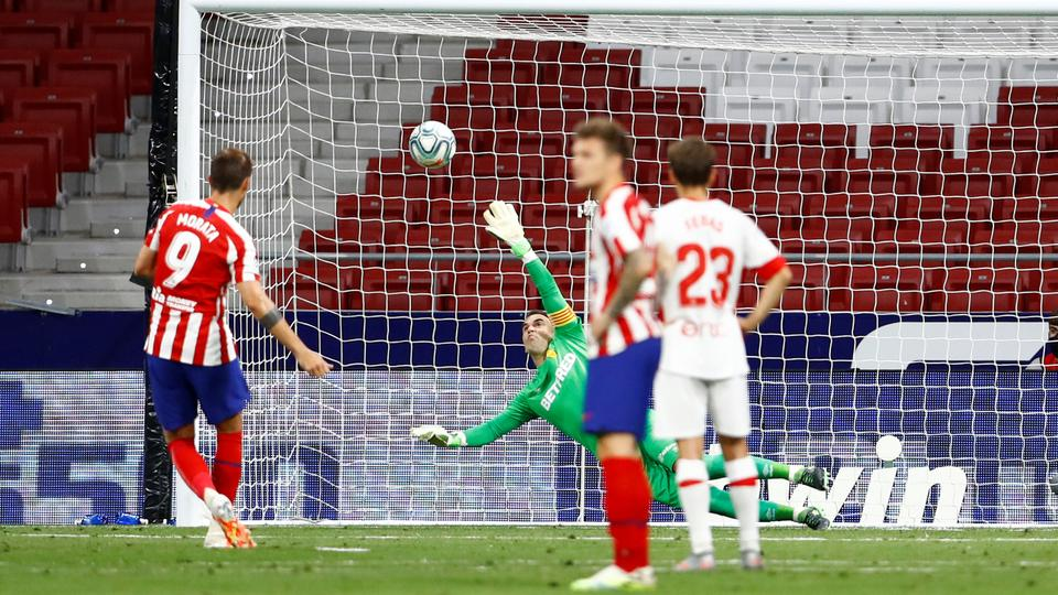 Morata double leads Atletico to 3-0 against Mallorca in Liga