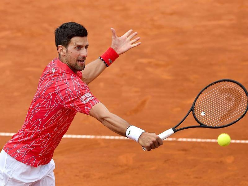 Novak Djokovic win over Filip Krajinovic in third round of Italian Open