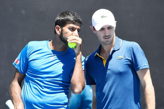 Australian Open: Rohan Bopanna & Edouard Roger-Vasselin to play in Men