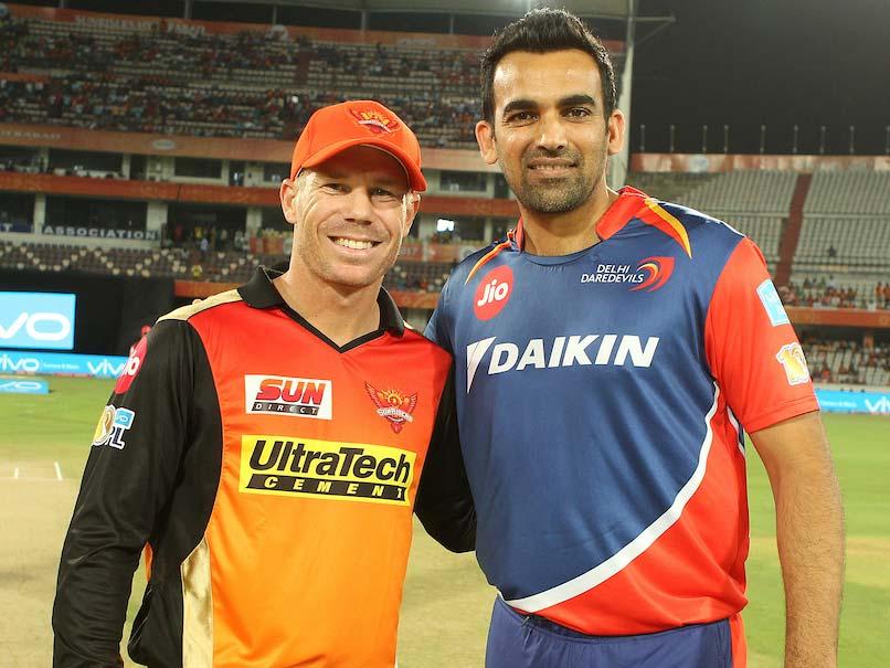Sunrisers Hyderabad captain David Warner wins toss , elects to bat against Delhi daredevils