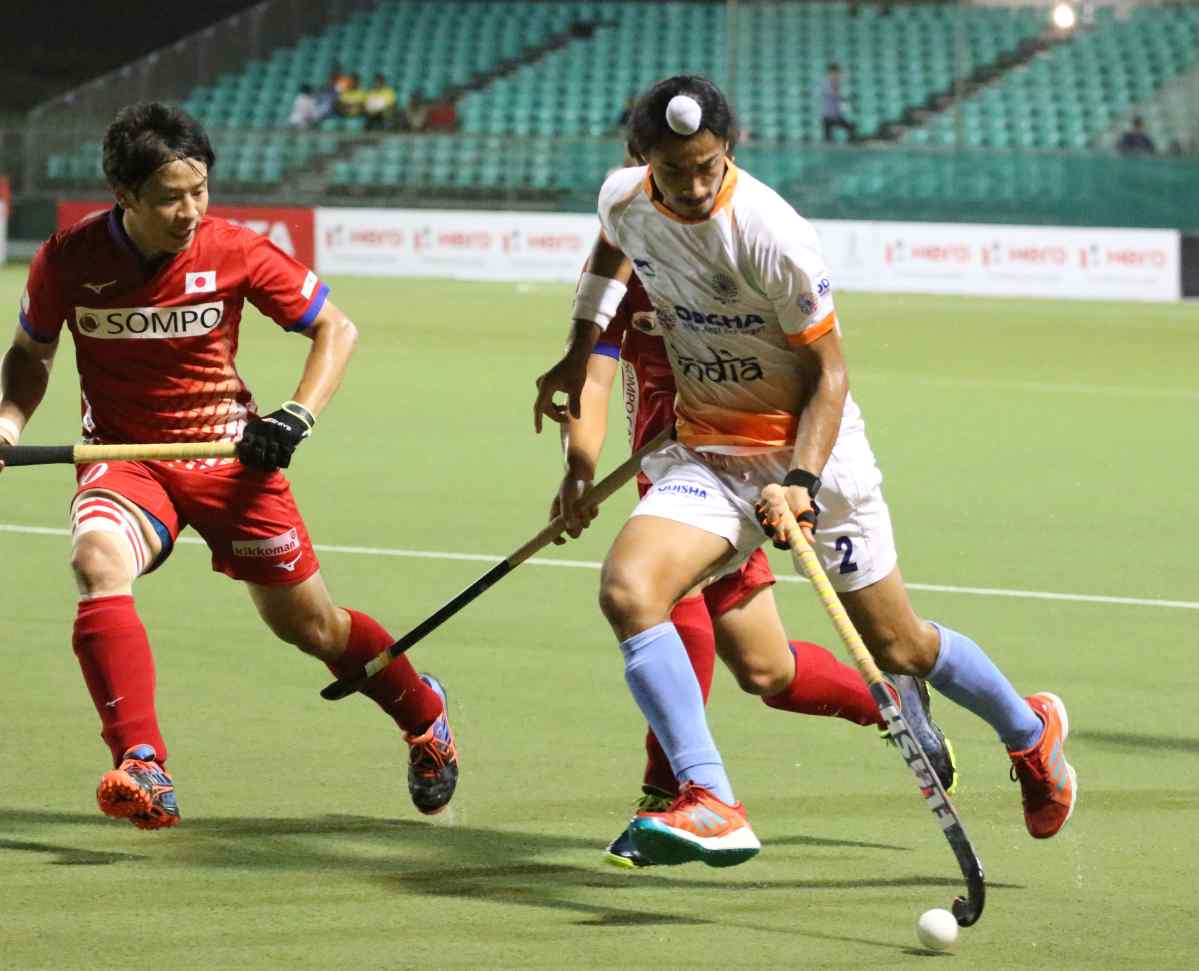 India beat Japan 9-0 to record their third consecutive win in Asian Champions Trophy