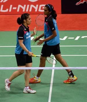 Saina, Sindhu enter quarterfinals of Hong Kong Open