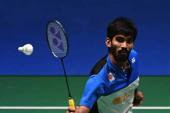 K Srikanth enter the 2nd round of Korea Masters