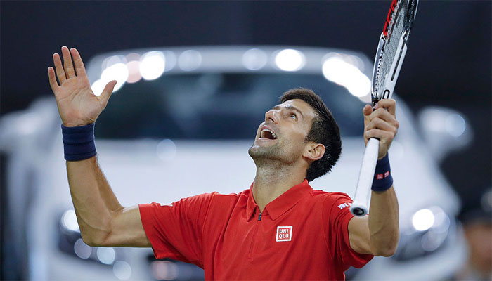 Novak Djokovic tops ATP rankings