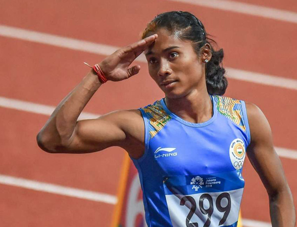 Hima Das included in World Relays team despite pulling out of Asian Championships