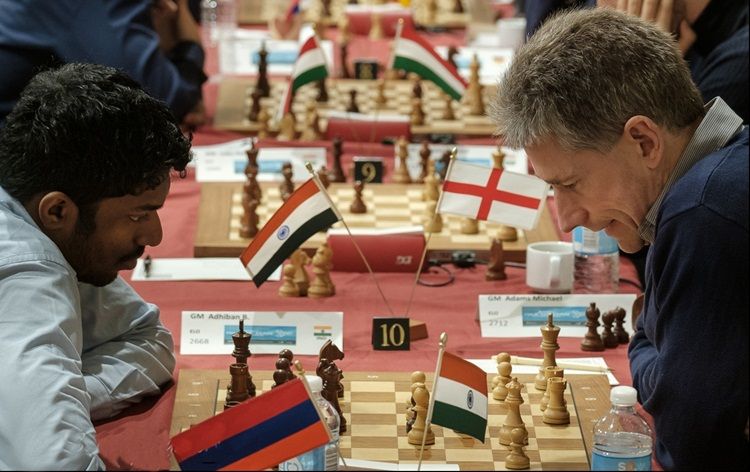 Grandmaster B Adhiban finishes 3rd in Isle of Man International Chess tournament