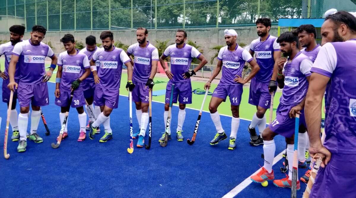 Six India men