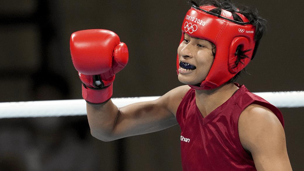 Boxer Lovlina Borgohain enters into semi final of Tokyo Olympics