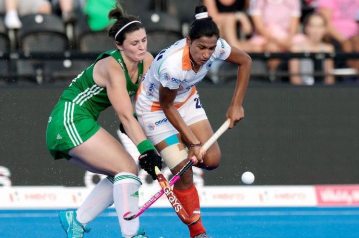 Ireland beat India 3-1 in quarterfinal of women