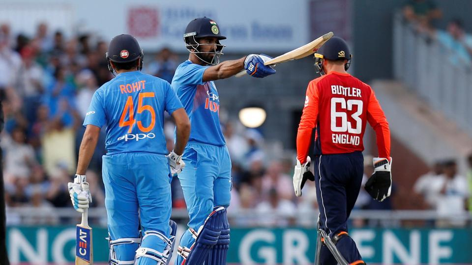 India beat England by 8 wickets in 1st T20 International
