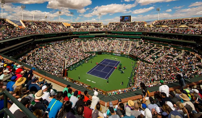 Indian campaign ends in Indian Wells Masters Tennis tournament in US