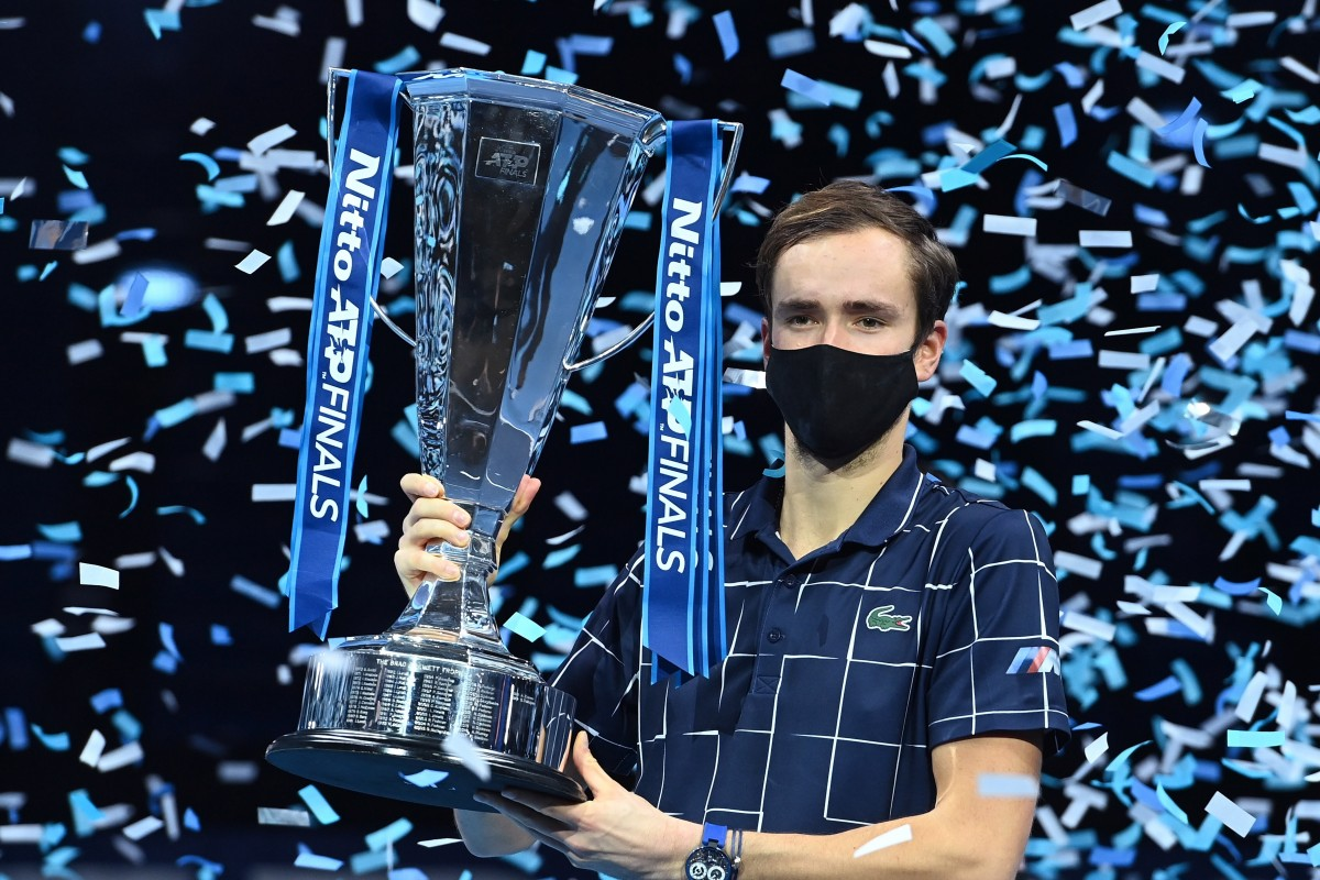 Daniil Medvedev beat Dominic Theim to win ATP Tour Finals in London
