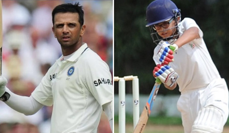 Son of Rahul Dravid, Samit follows Double-Century With Splendid All-Round Show In U-14 Cricket