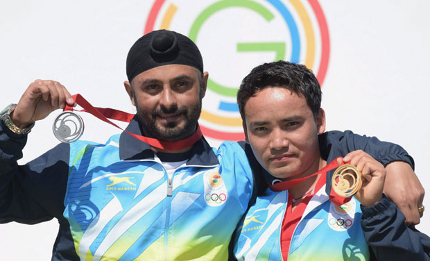 Jitu Rai wins gold at Commonwealth Games