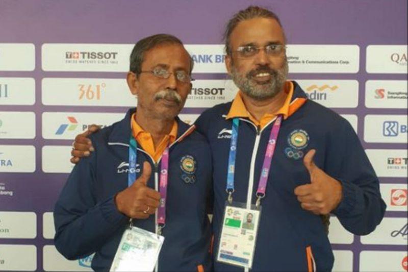 Pranab Bardhan and Shibhnath Sarkar win gold on bridge
