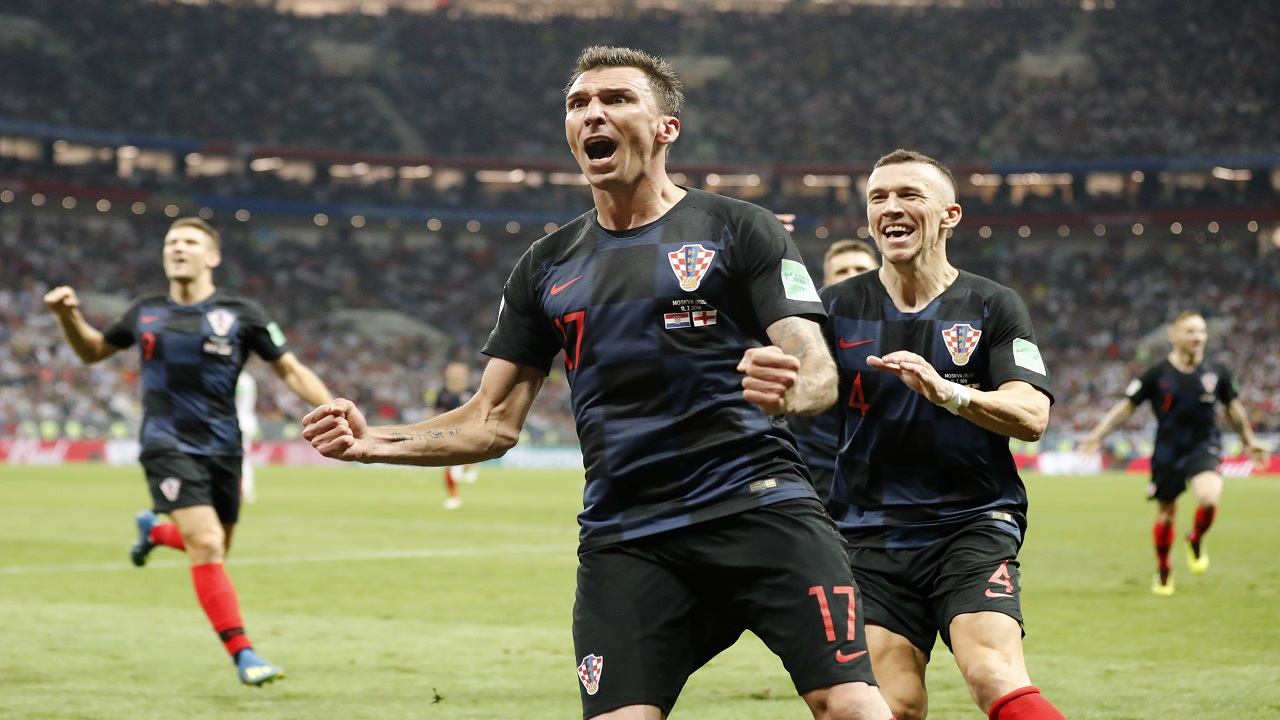 Croatia reaches World Cup final after beating England 2-1
