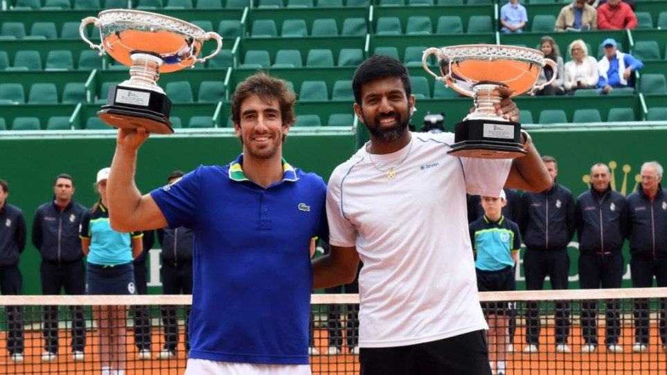 Rohan Bopanna and Pablo Cuevas win Monte Carlo Masters doubles crown