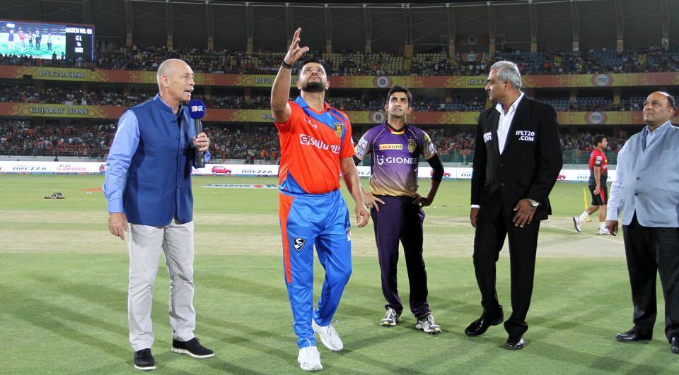 Live - IPL2017: Kolkata Knight Riders vs Gujarat Lions,  GL opt to field