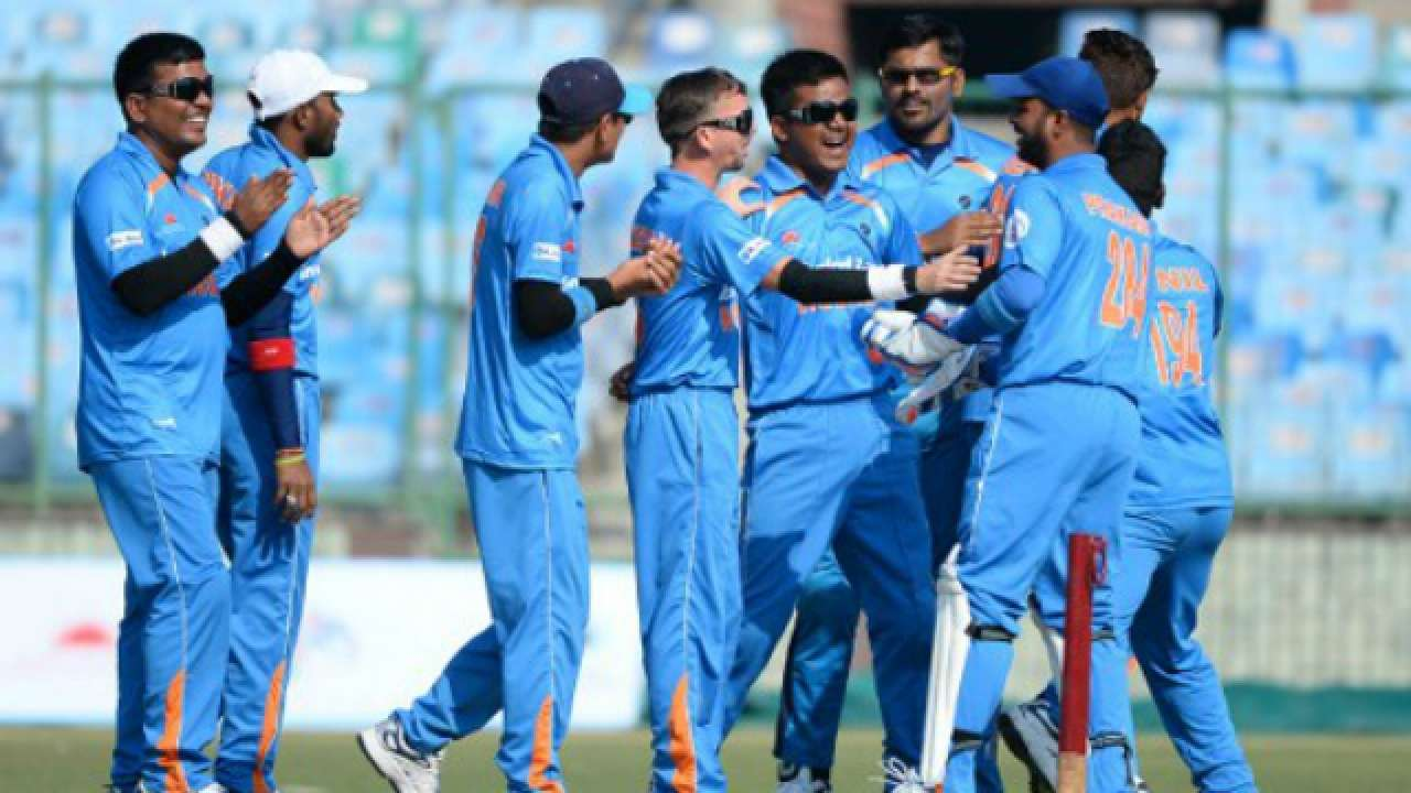 India clinch Blind T20 series against England