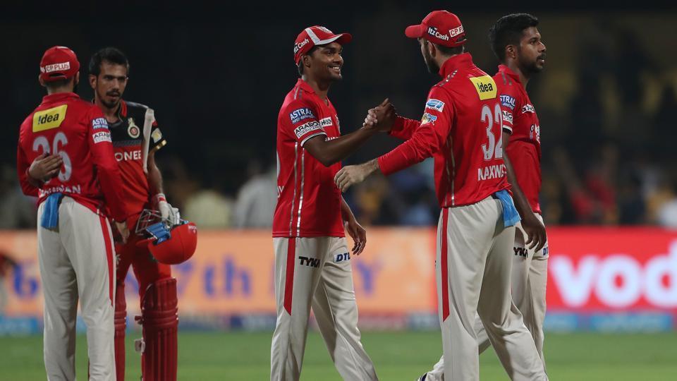 IPL 2017:RCB vs KXIP : Clinical Punjab thrash Bangalore by 19 runs in a low-scoring game