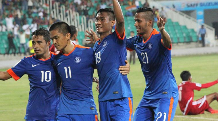 India to take on Maldives in final of SAFF football Cup in Dhaka