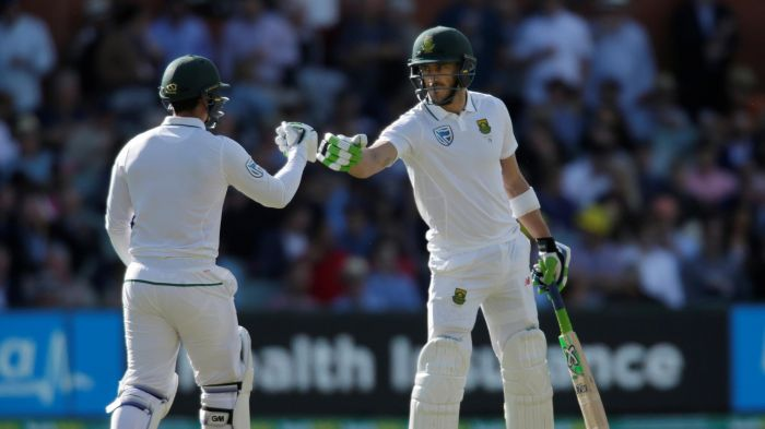 Du Plessis cracks scintillating century against Australia