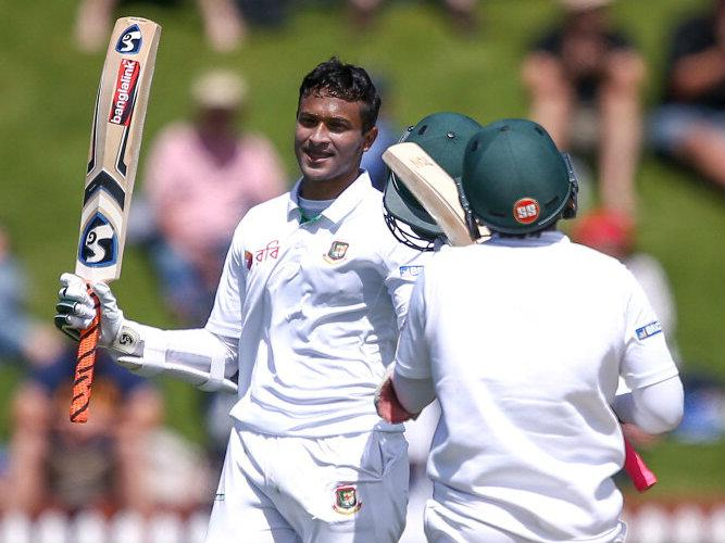 Shakib Al Hasan double ton puts Bangladesh in commanding position against New Zealand