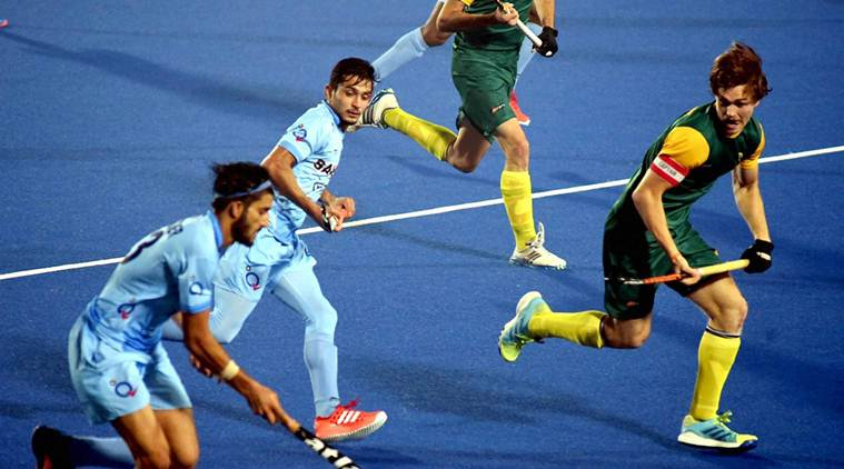 India beat South Africa  to enter into  quarterfinals of Hockey Junior World Cup