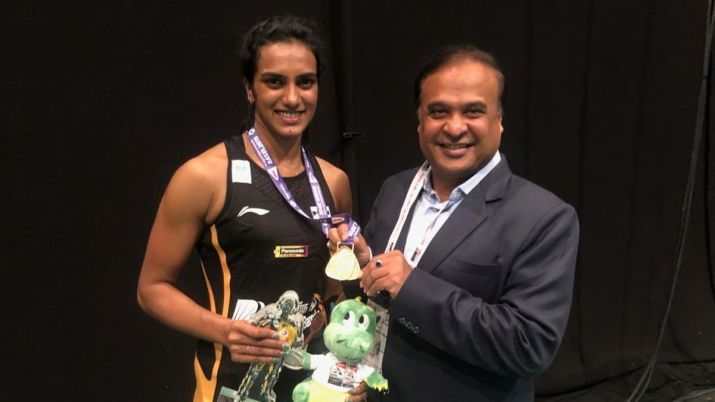 Cash reward of Rs.20 lakh announced for PV Sindhu