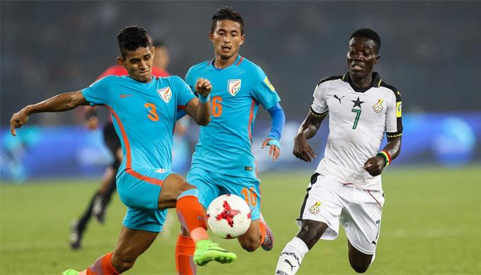 FIFA U-17 World Cup: Ghana defeat India by 4-0