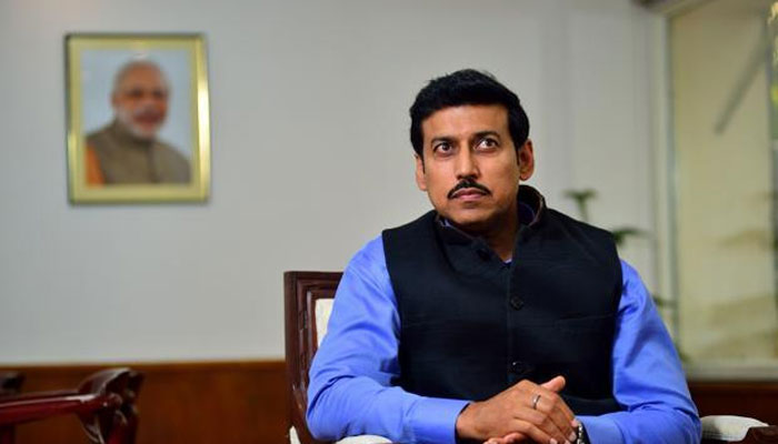 Sports Minister Rajyavardhan Rathore to inaugurate ISSF Shooting World Cup
