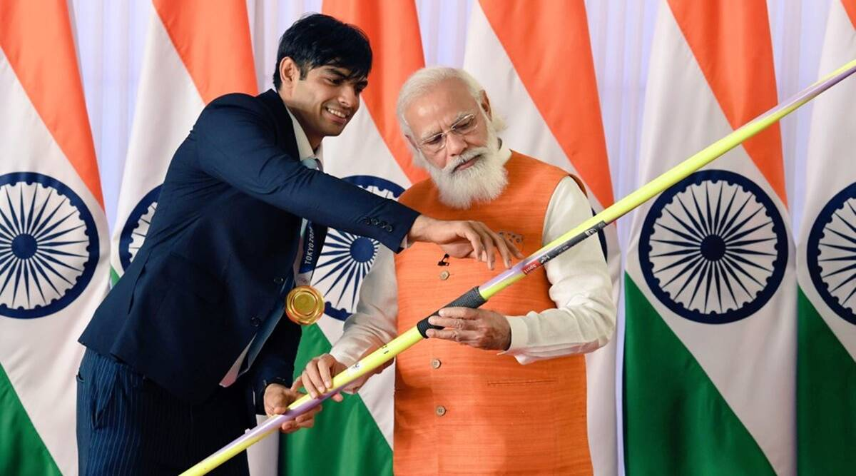 Olympic gold medalist Neeraj Chopra