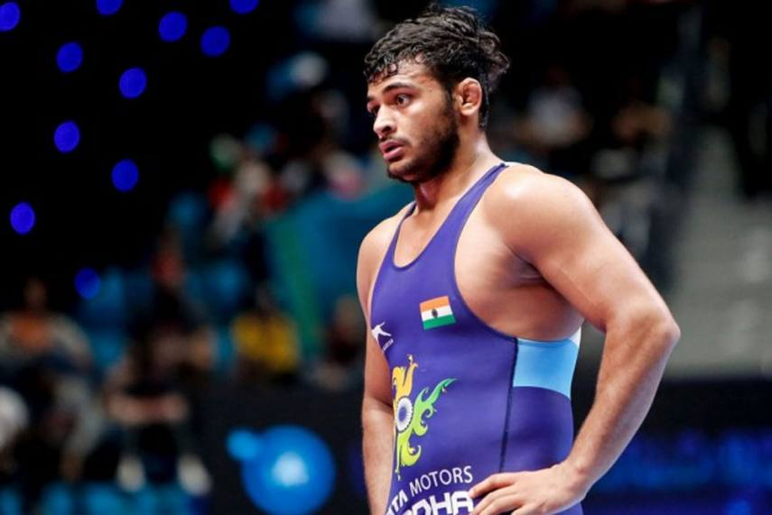 Deepak Punia settles for silver in 68kg at Asian Championships