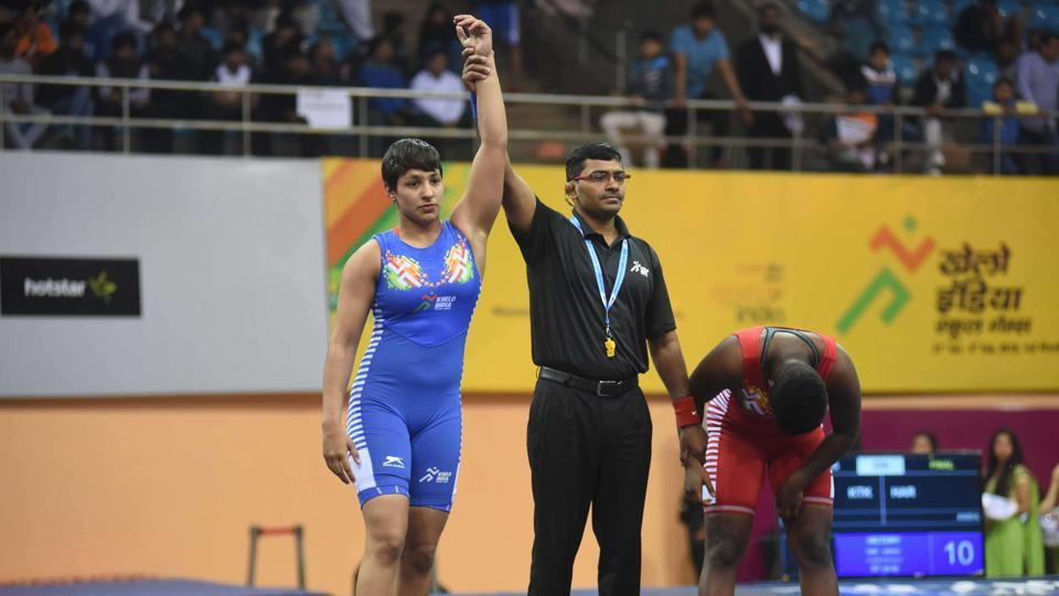 Khelo India Games: Haryana dominates Wrestling by winning six gold medals