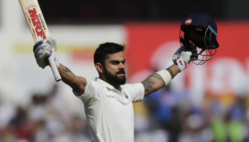 Ind vs SL: Virat Kohli hits 19th test ton, second century in series