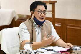 Kiren Rijiju interacts with Sports Ministers of 17 states, UTs to plan collaborative roadmap