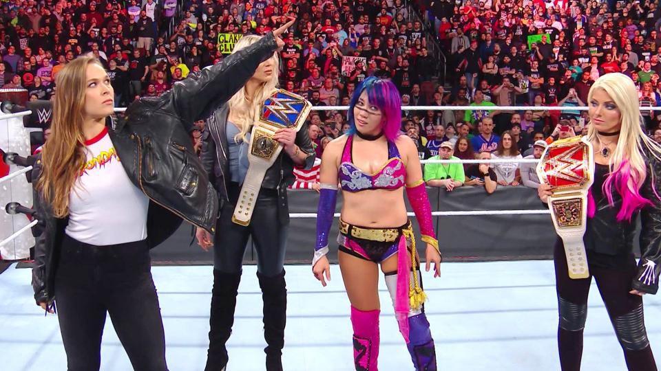 Wrestler Asuka creates history in WWE Royal Rumble