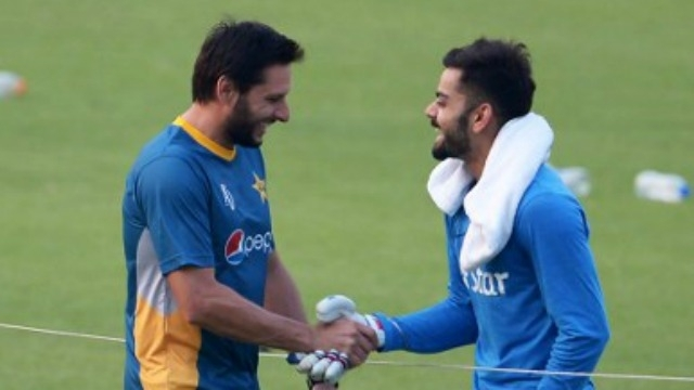 Shahid Afridi thanks Team India,