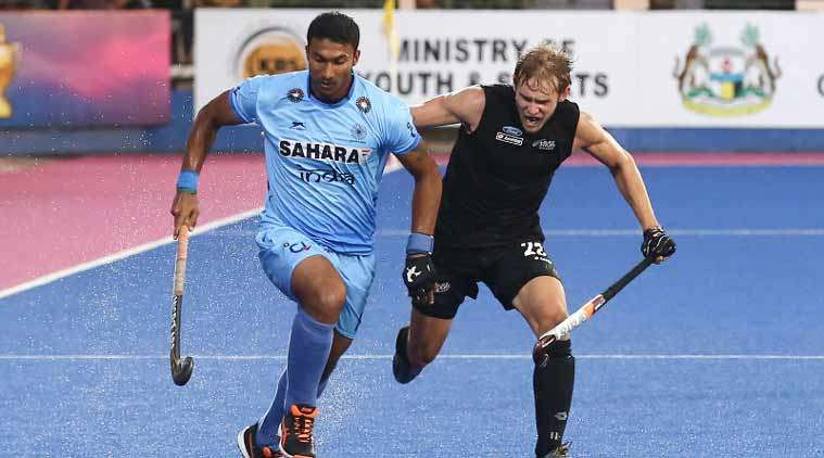 India beat New Zealand 3-2 in the Four-Nation Hockey