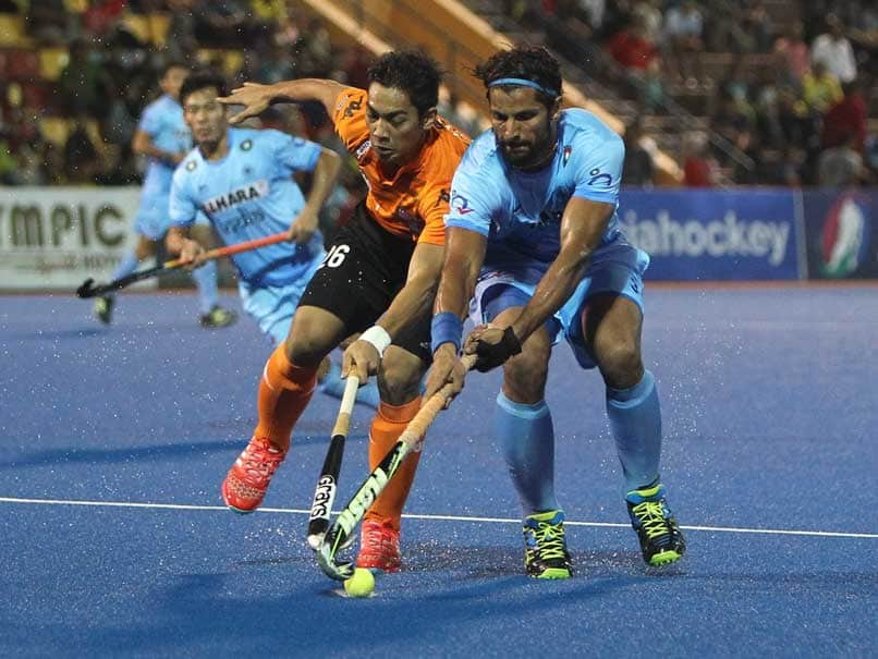 India to face Malaysia  in the Men