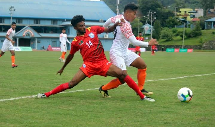 Bangladesh hold India to a goalless draw in SAFF U-18 football