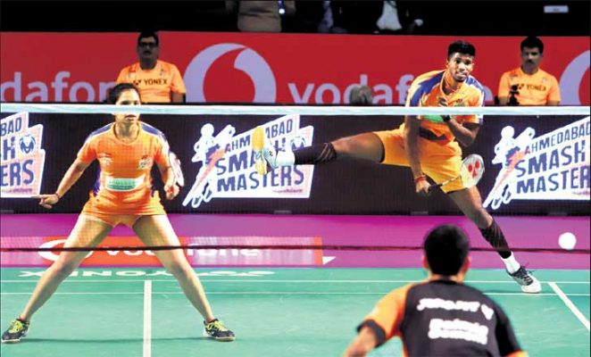 Smash Masters thrash Dashers in Premier Badminton League
